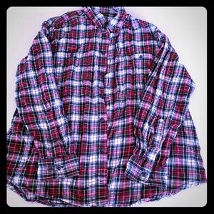 Other - 5/$ m15!! Men's button down plaid flannel